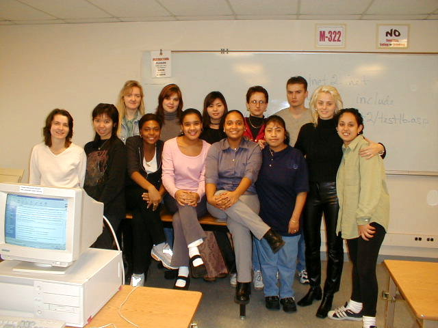 Students in ESL 91 D01B