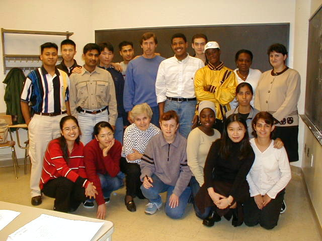 Students in ESL 91 D05E